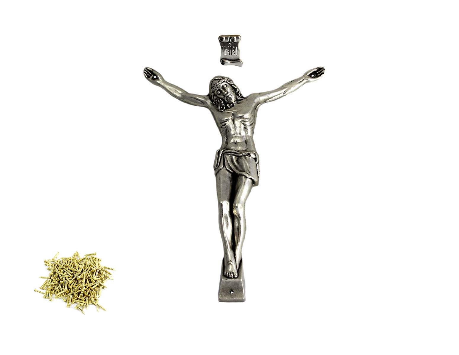 jesus christ crucifix for crosses size around 25 cm 9 75