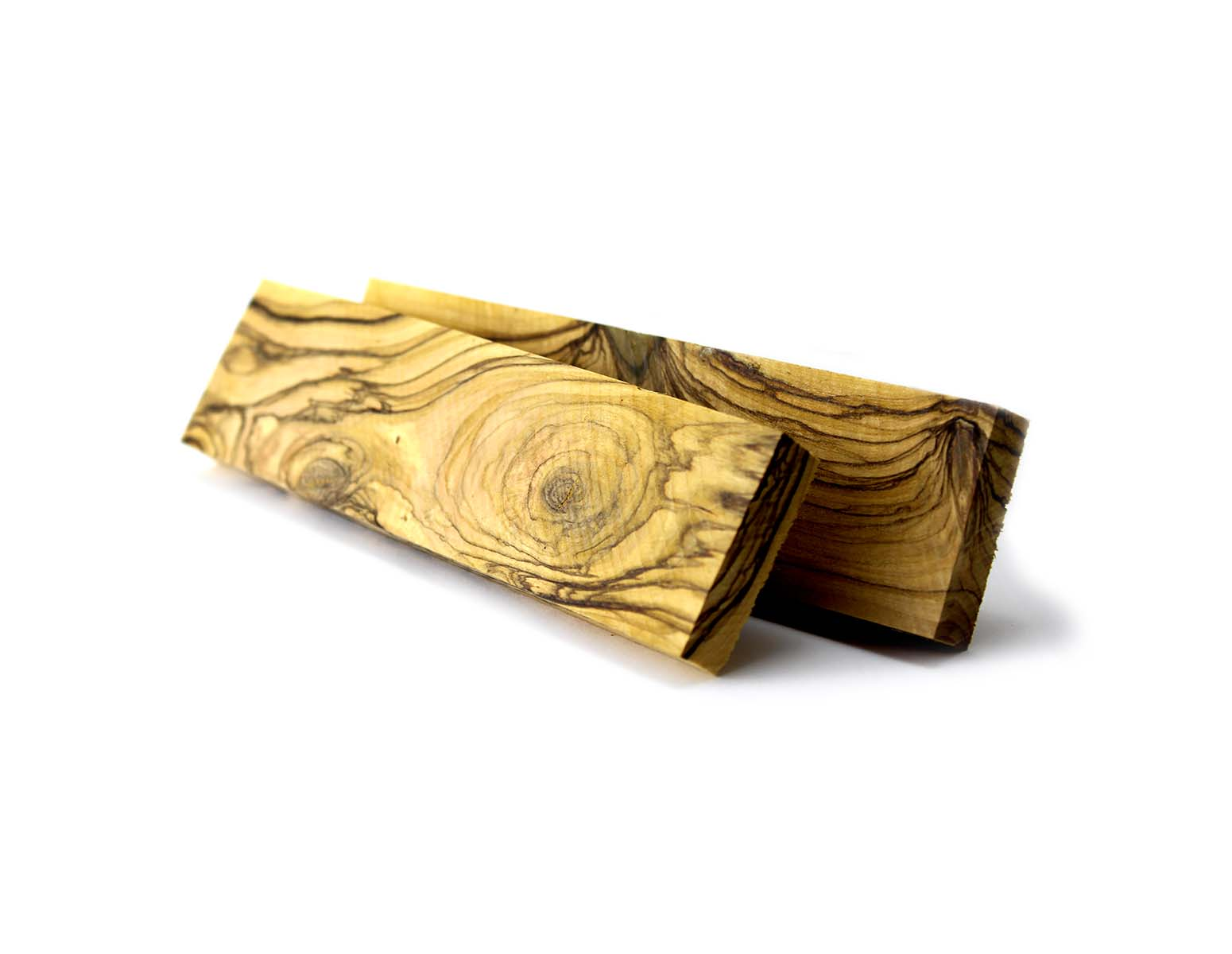 Single Block Olivewood Knife Handle Blanks 0 75 Quot X 1 5 Quot X